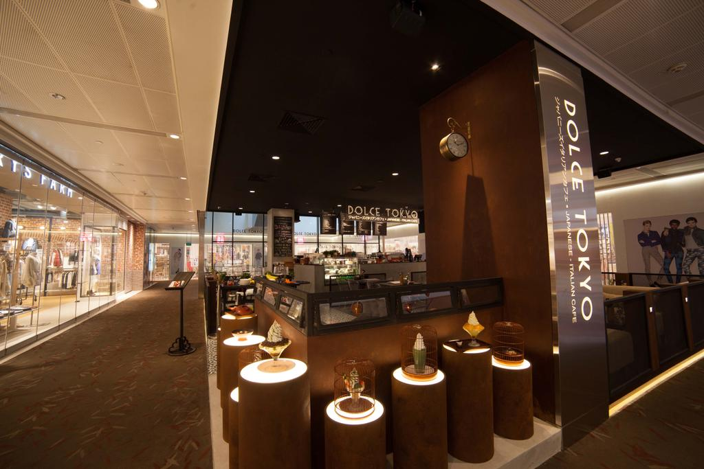 Dolce Tokyo Cafe, Commercial, Interior Designer, Juz Interior, Contemporary, Restaurant, Bar Counter, Pub