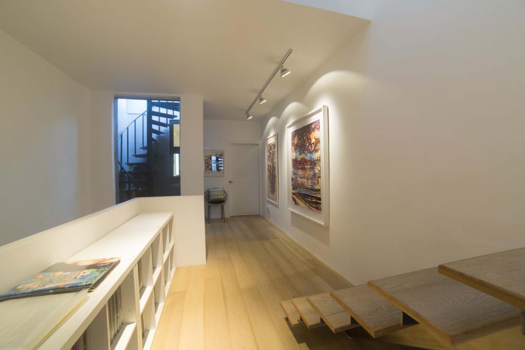 Contemporary, Landed, Living Room, Changi Lorong 101, Interior Designer, Juz Interior, Corridor, Indoors, Interior Design