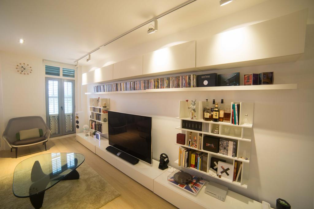 Contemporary, Landed, Living Room, Changi Lorong 101, Interior Designer, Juz Interior, Couch, Furniture, Indoors, Interior Design