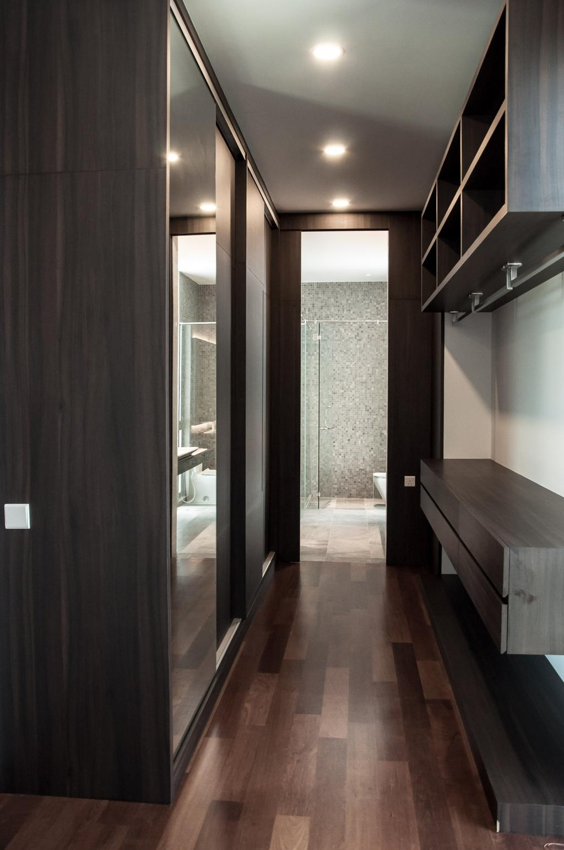 Modern, Landed, Bedroom, Shah Alam, Interior Designer, Core Design Workshop, Apartment, Building, Housing, Indoors, Loft, Bench