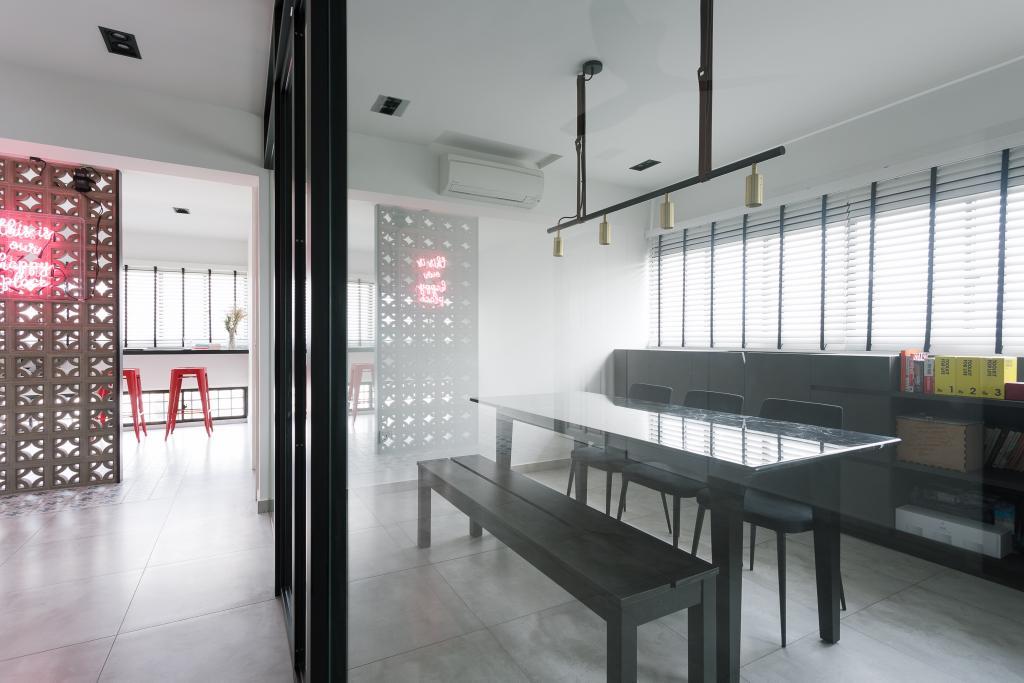 Modern, HDB, Study, Marine Crescent, Interior Designer, Habit, Eclectic, Chair, Furniture