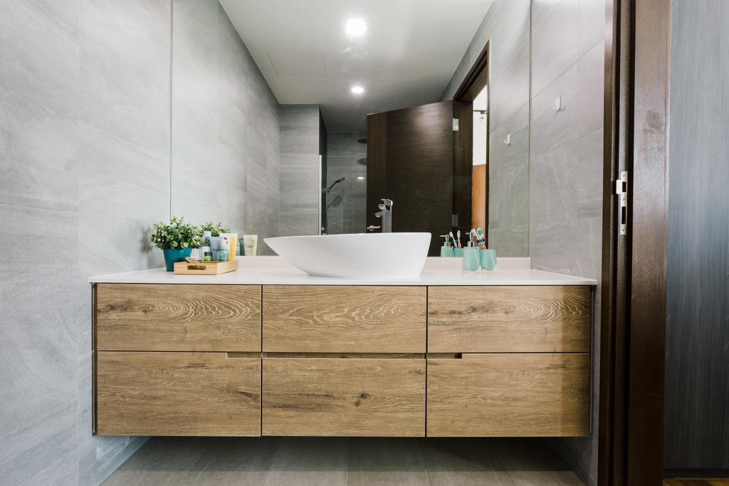 Contemporary, Condo, Bathroom, Parc Oasis, Interior Designer, Schemacraft, Indoors, Interior Design, Room