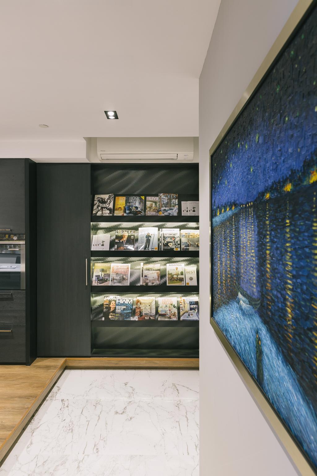 Schemacraft Showroom, Commercial, Interior Designer, Schemacraft, Contemporary, Kitchen