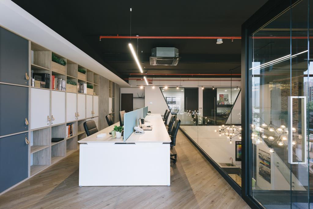 Schemacraft Showroom, Commercial, Interior Designer, Schemacraft, Contemporary, Study, Indoors, Interior Design