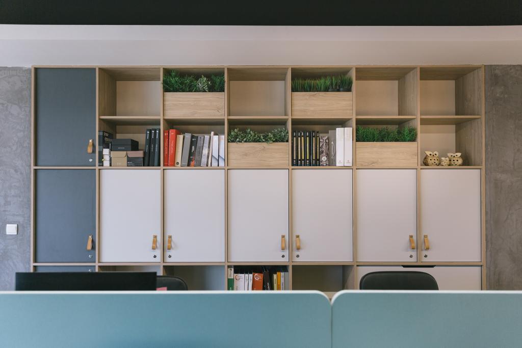 Schemacraft Showroom, Commercial, Interior Designer, Schemacraft, Contemporary, Study, Bookcase, Furniture