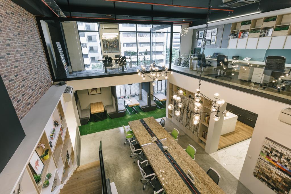 Schemacraft Showroom, Commercial, Interior Designer, Schemacraft, Contemporary, Balcony