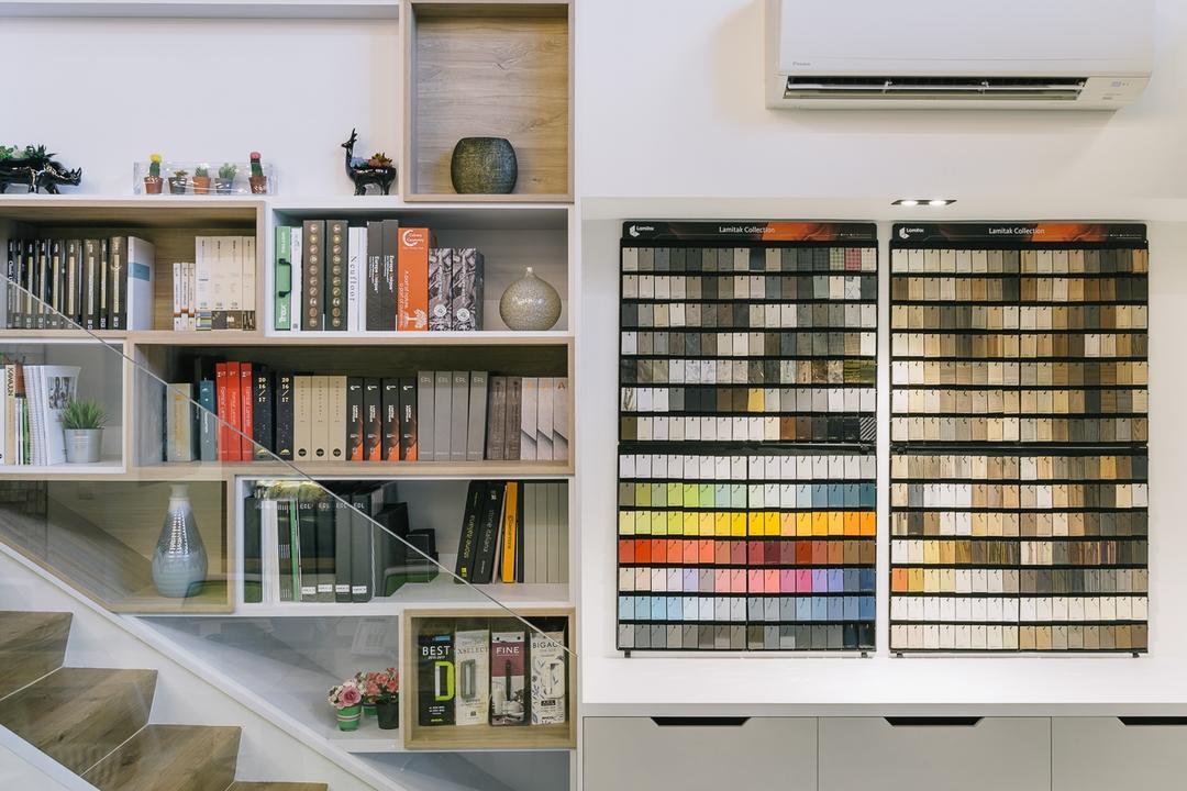 Schemacraft Showroom, Schemacraft, Contemporary, Commercial, Bookcase, Furniture, Shelf, Indoors, Interior Design, Library, Room