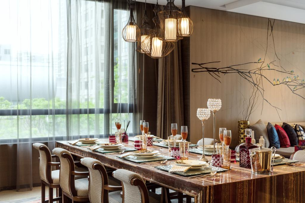 Contemporary, Landed, G Villa, Interior Designer, A.RK Interior Design, Chair, Furniture, Dining Room, Indoors, Interior Design, Room