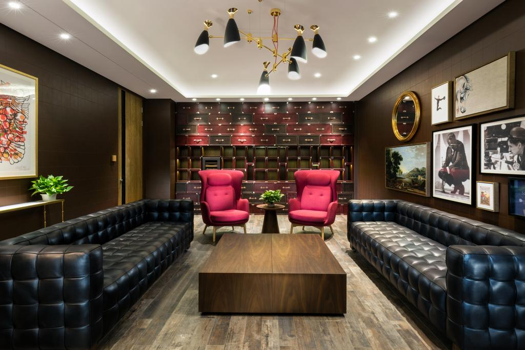 Uno Showroom, Commercial, Interior Designer, A.RK Interior Design, Contemporary, Living Room, Flora, Jar, Plant, Potted Plant, Pottery, Vase, Couch, Furniture, Indoors, Interior Design, Chair