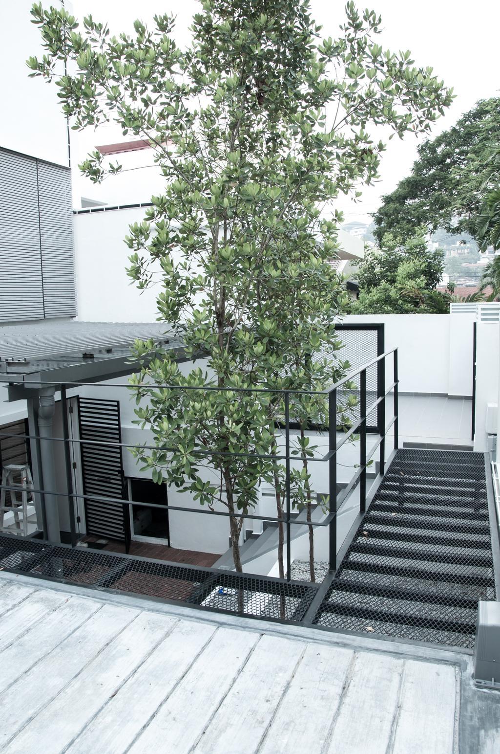 Minimalistic, Landed, Tempinis (Bangsar), Interior Designer, Core Design Workshop, Flora, Plant, Nature, Ocean, Outdoors, Sea, Sea Waves, Tsunami, Water