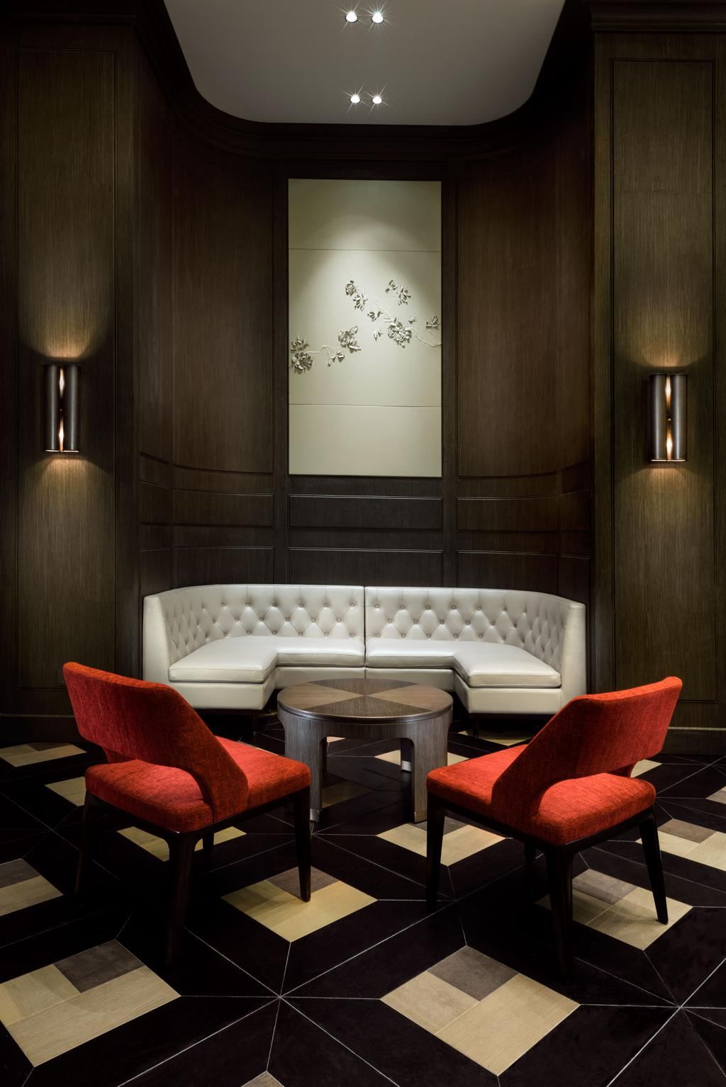 Gallery Clubhouse, Commercial, Interior Designer, A.RK Interior Design, Modern, Living Room, Chair, Furniture, Couch, Indoors, Interior Design