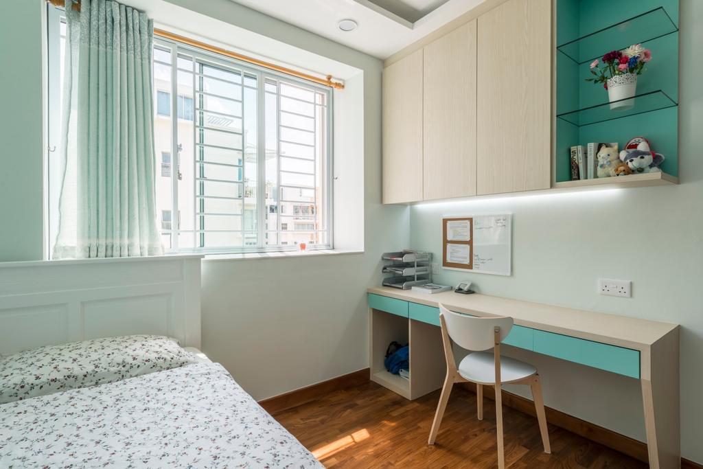 Modern, Condo, Study, The Eden, Interior Designer, Starry Homestead, Chair, Furniture
