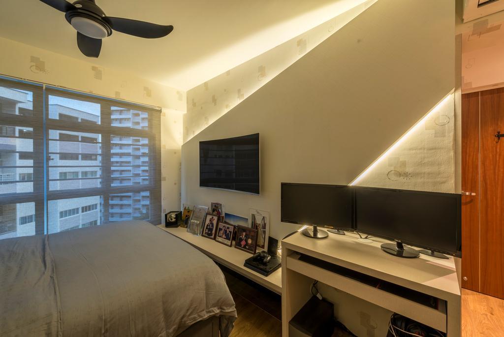 Scandinavian, HDB, Bedroom, McNair Road (Block 113B), Interior Designer, MET Interior, Modern, Appliance, Electrical Device, Oven, Art, Art Gallery