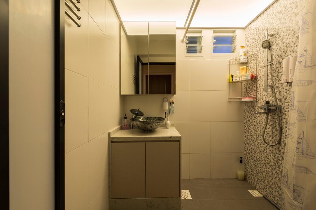 Scandinavian, HDB, Bathroom, McNair Road (Block 113B), Interior Designer, MET Interior, Modern, Box