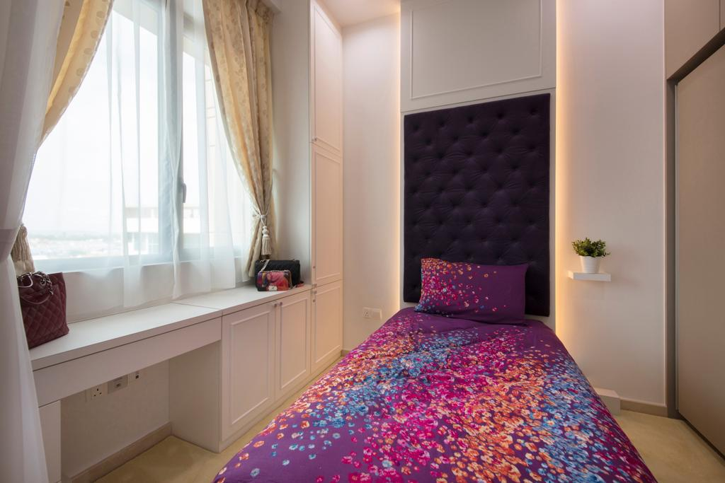 Contemporary, Condo, Bedroom, The Glades, Interior Designer, Colourbox Interior, Indoors, Interior Design, Room