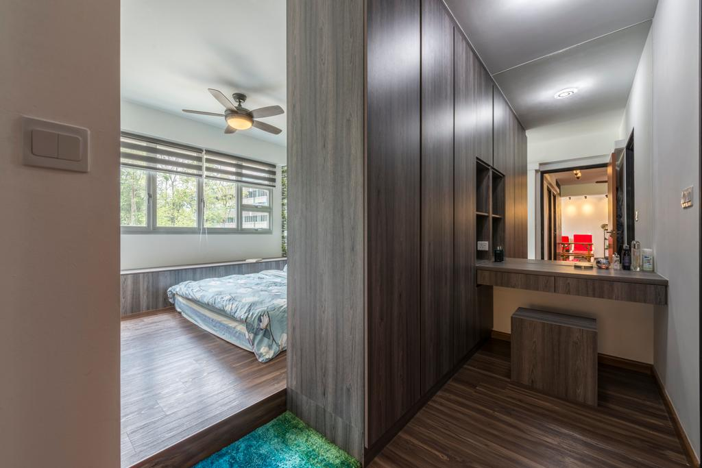 Industrial, HDB, Bedroom, Boon Lay Avenue, Interior Designer, Butler Interior, Scandinavian