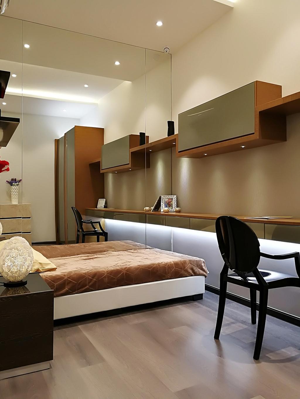 Contemporary, Condo, Rica Residences @ Sentul, Interior Designer, The Arch, Modern, Chair, Furniture, Bed
