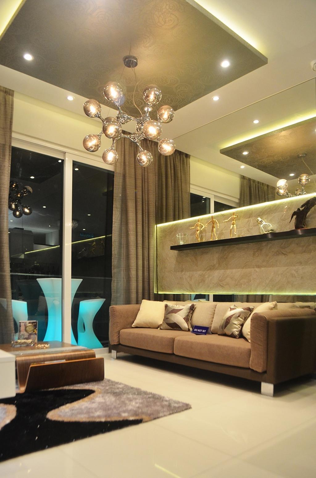 Contemporary, Condo, Type A1, Rica Residences @ Sentul, Interior Designer, The Arch, Modern, Indoors, Interior Design, Couch, Furniture