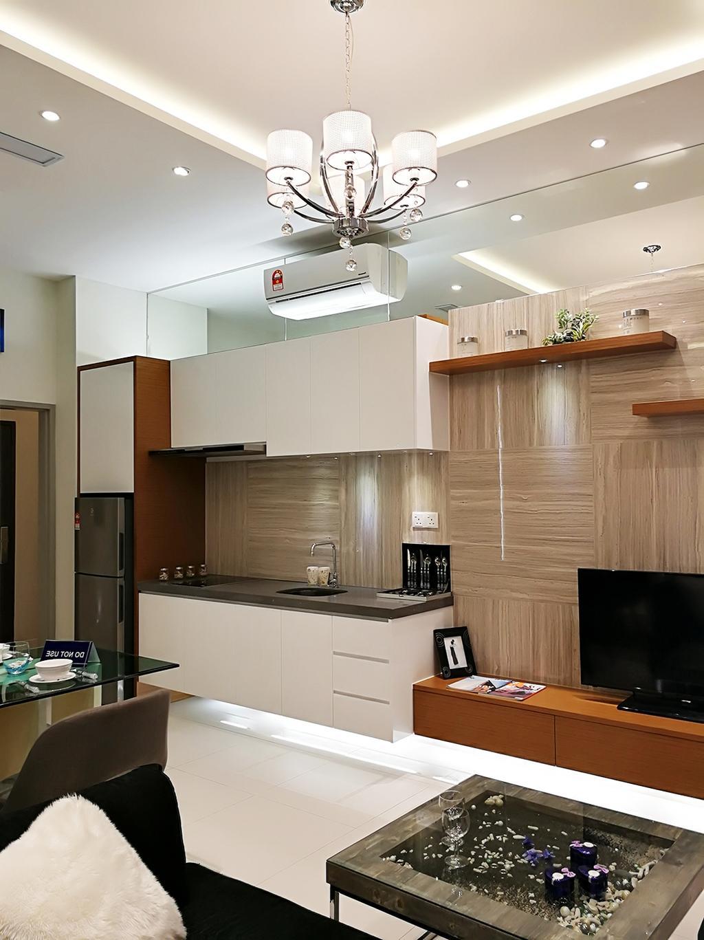Contemporary, Condo, Rica Residences @ Sentul, Interior Designer, The Arch, Modern, Bathroom, Indoors, Interior Design, Room
