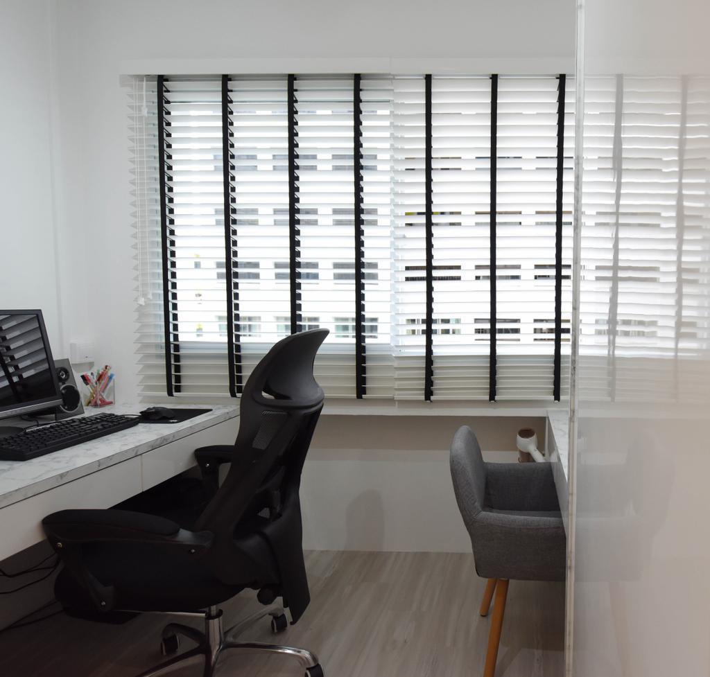 Scandinavian, HDB, Study, Bukit Panjang, Interior Designer, Starry Homestead, Chair, Furniture, Clothing, Footwear, Shoe, Electronics, Keyboard