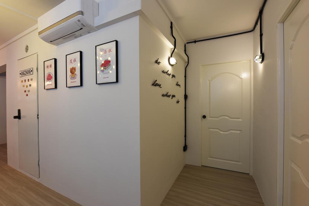 Scandinavian, HDB, Living Room, Bukit Panjang, Interior Designer, Starry Homestead, Floor