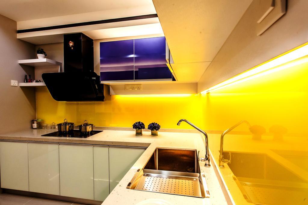 Modern, Condo, Kitchen, All Seasons Park - Type A, Interior Designer, Zeng Interior Design Space