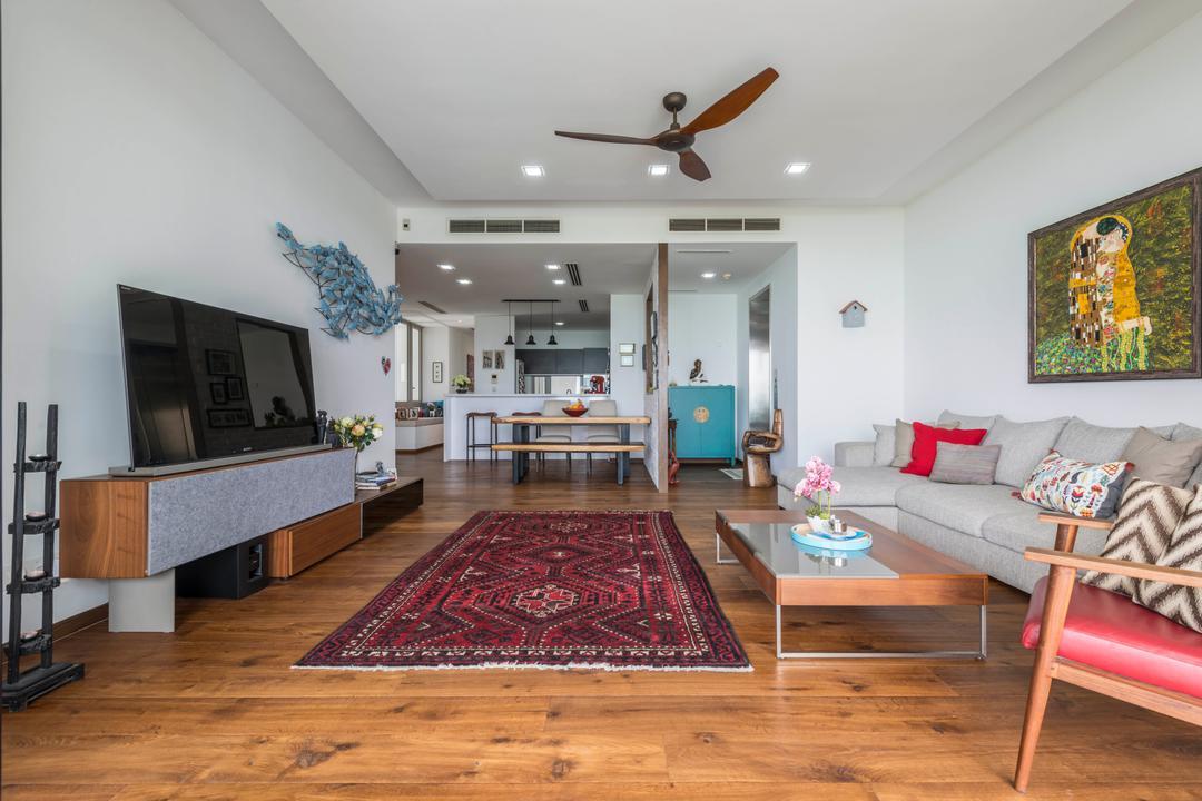 Ocean Drive, A.RK Interior Design, Living Room, Condo, Carpet, Home Decor, Propeller, Couch, Furniture, Indoors, Room, Flooring