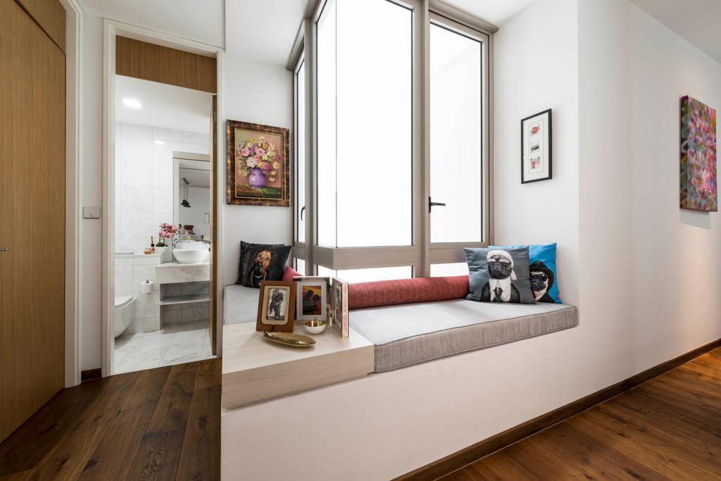 Condo, Study, Ocean Drive, Interior Designer, A.RK Interior Design, Indoors, Interior Design, Couch, Furniture, Flooring