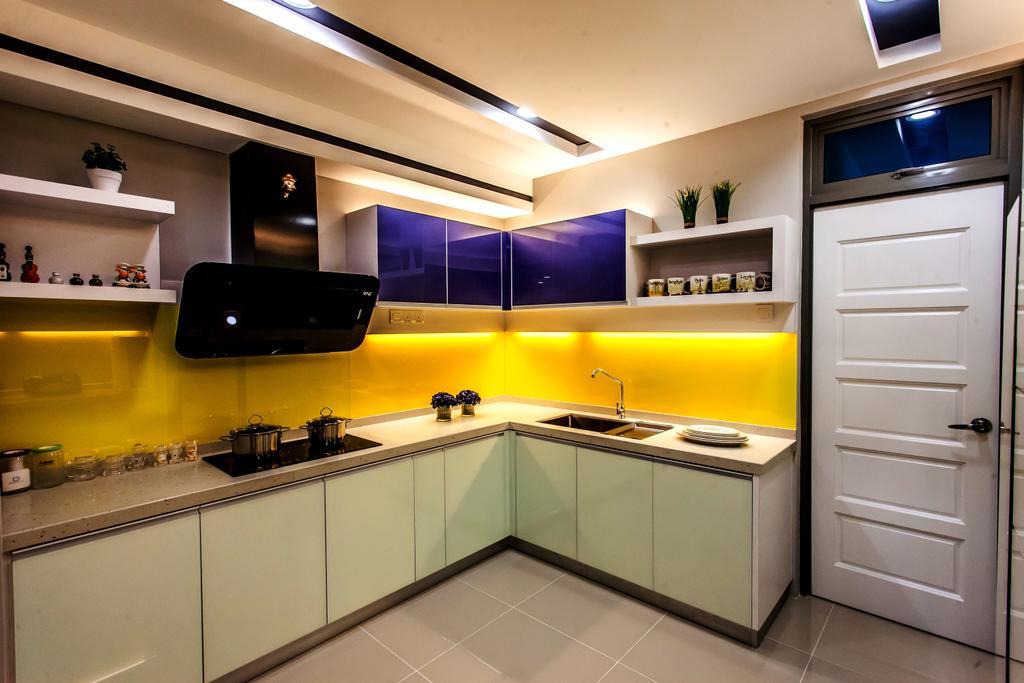 Modern, Condo, Kitchen, All Seasons Park - Type A, Interior Designer, Zeng Interior Design Space, Indoors, Interior Design