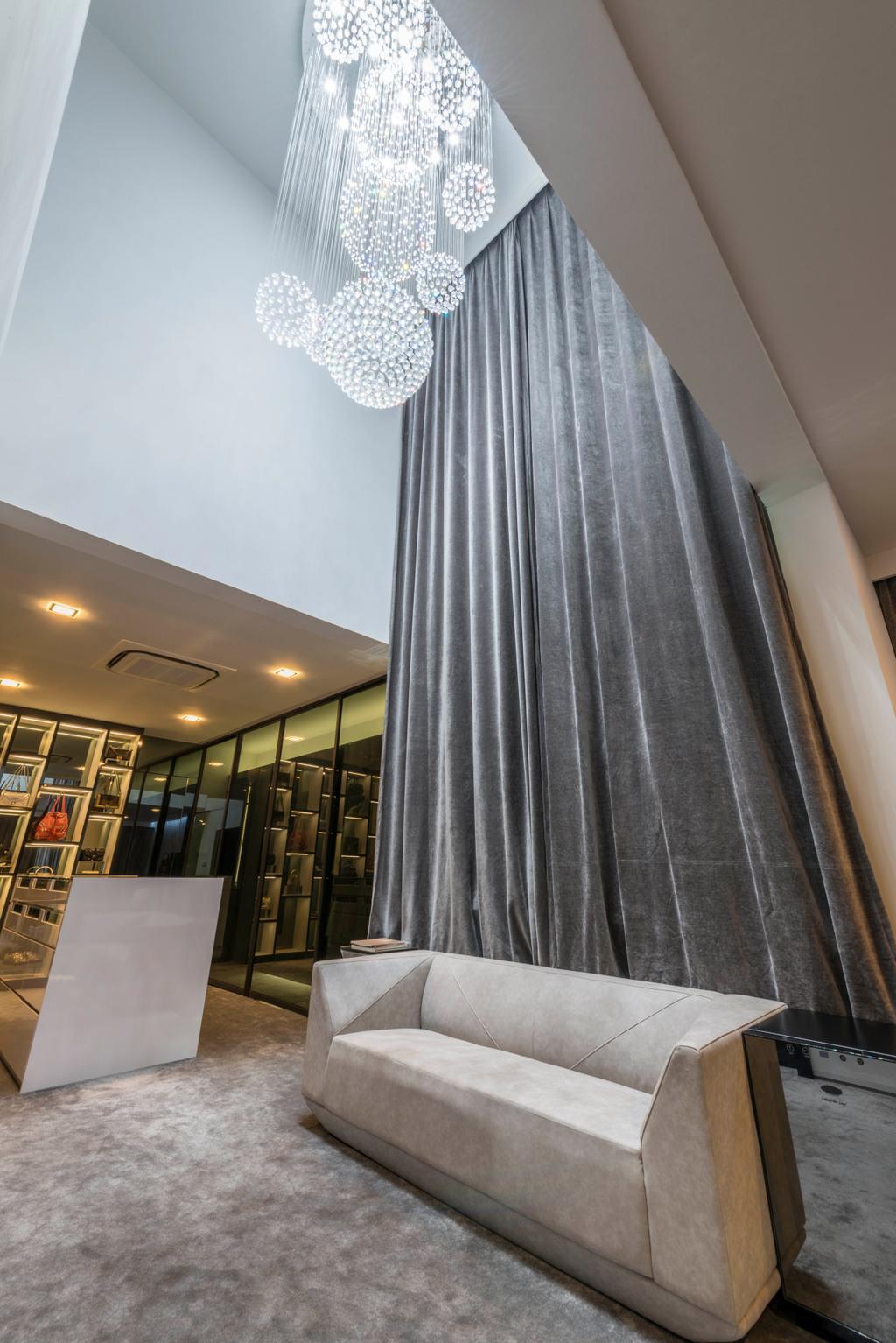 Modern, Landed, Study, Jalan Lengkok Sembawang, Interior Designer, ARK-hitecture