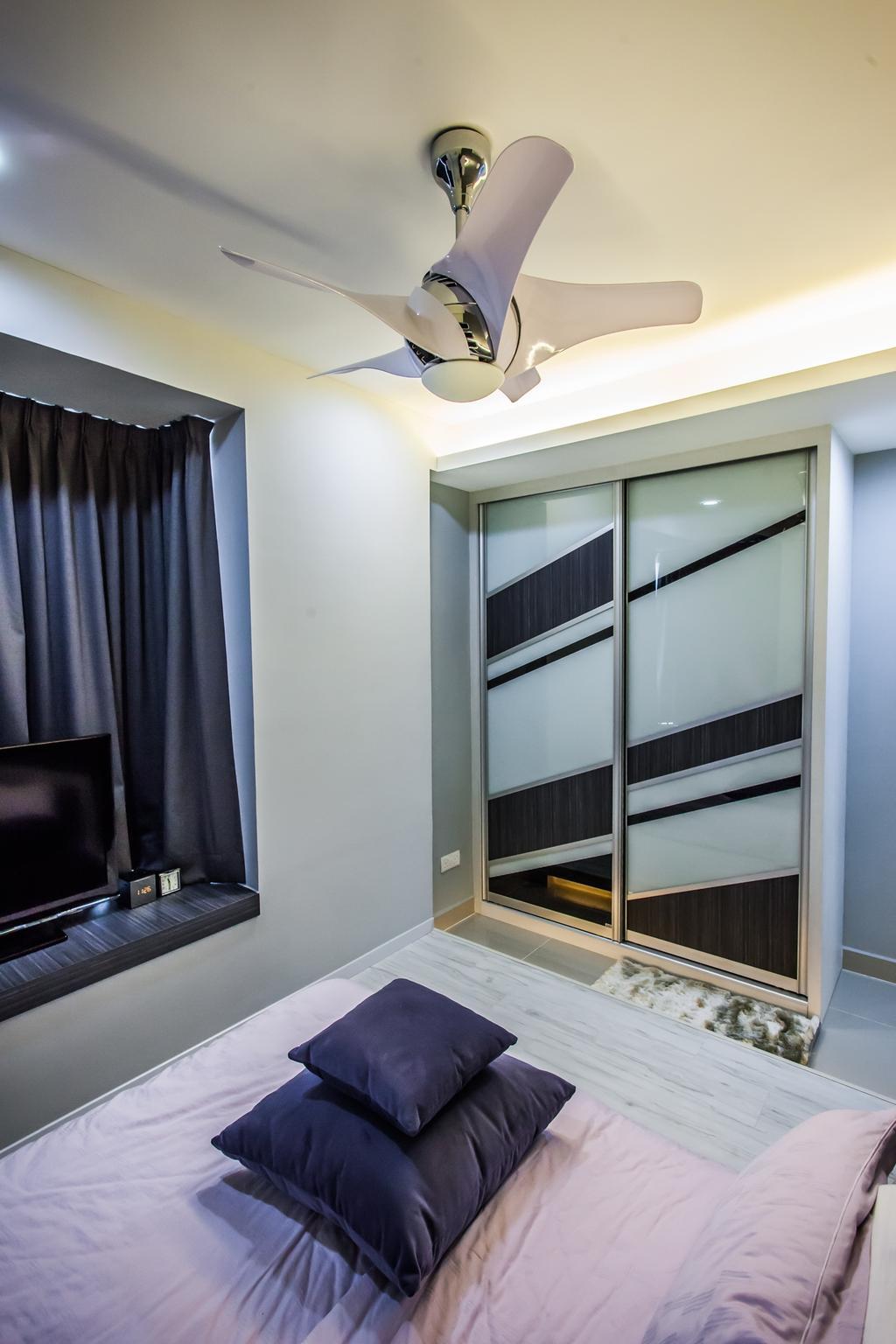 Modern, Condo, Bedroom, All Seasons Park - Type B, Interior Designer, Zeng Interior Design Space