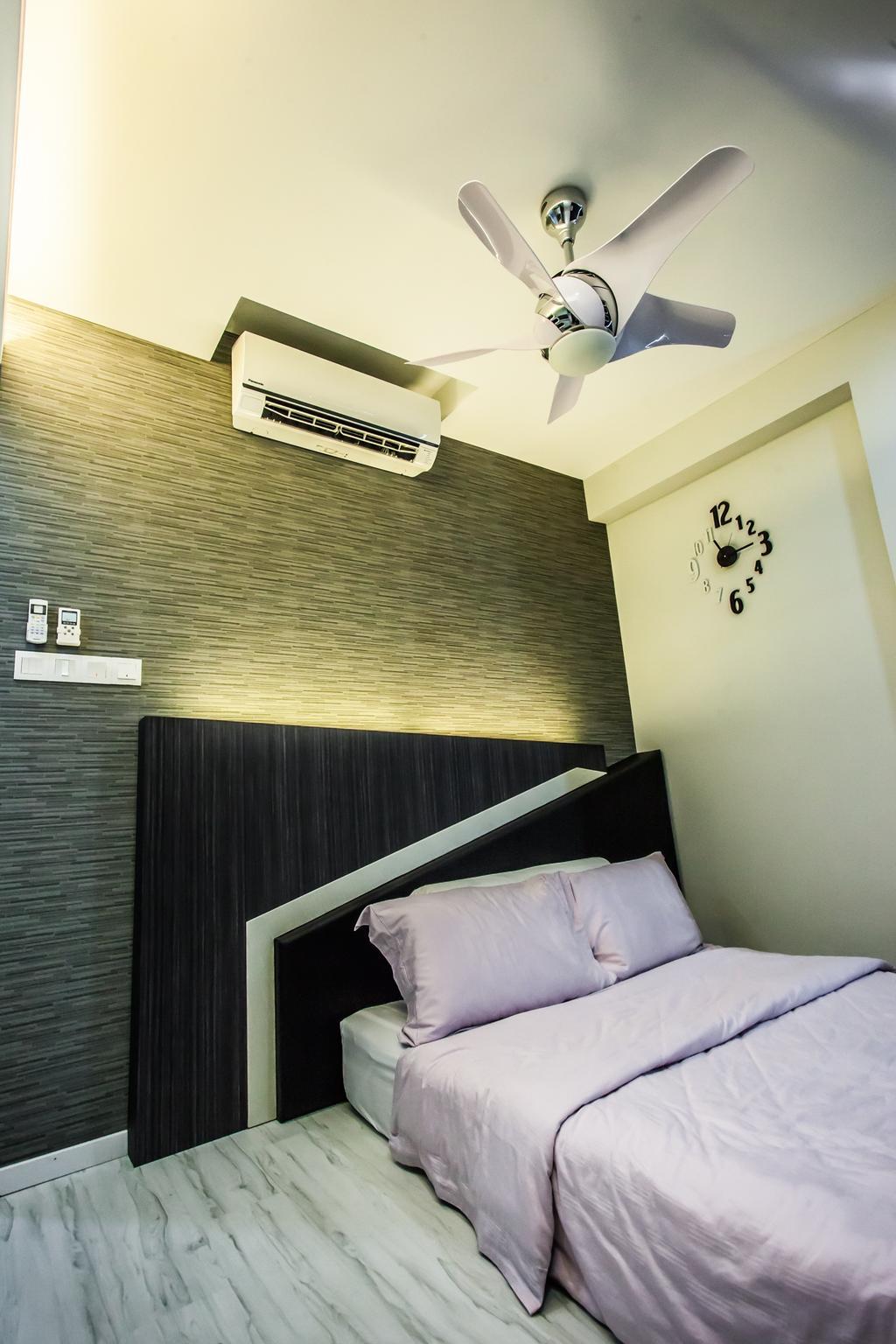 Modern, Condo, Bedroom, All Seasons Park - Type B, Interior Designer, Zeng Interior Design Space, Indoors, Interior Design, Room, Bed, Furniture