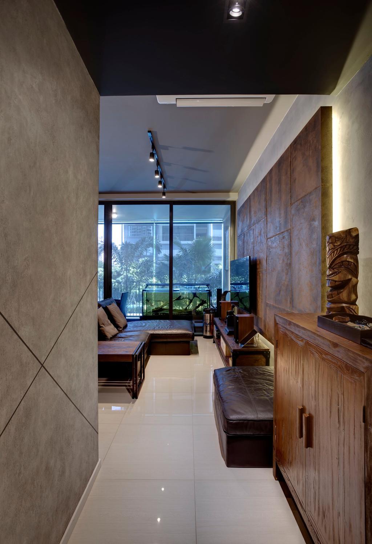 Contemporary, Condo, Amore @ Punggol, Interior Designer, Juz Interior, Architecture, Building, Column, Emblem, Pillar, Tiki, Totem, Indoors, Interior Design