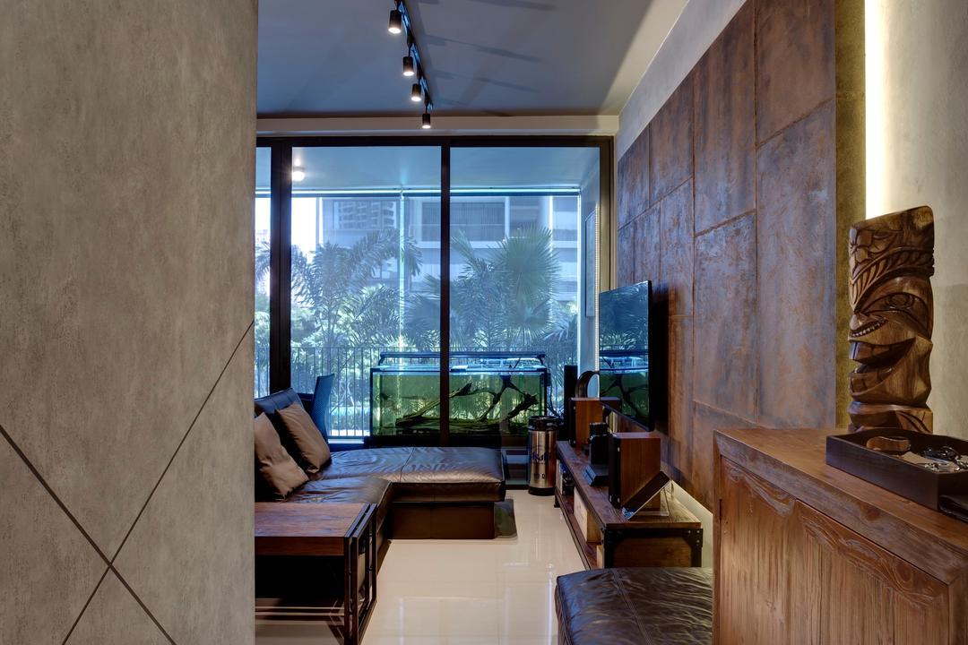 Amore @ Punggol, Juz Interior, Contemporary, Condo, Architecture, Building, Column, Emblem, Pillar, Tiki, Totem, Indoors, Interior Design