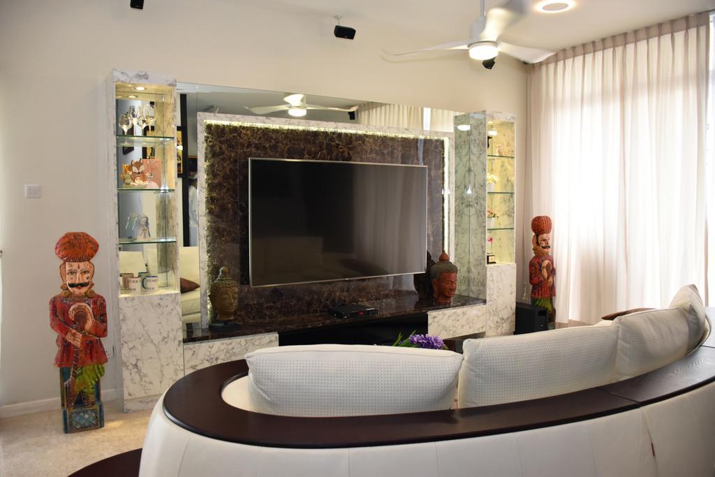 Contemporary, Landed, Living Room, Pavilion Place, Interior Designer, Aritz Design & Construction, Couch, Furniture, Indoors, Interior Design