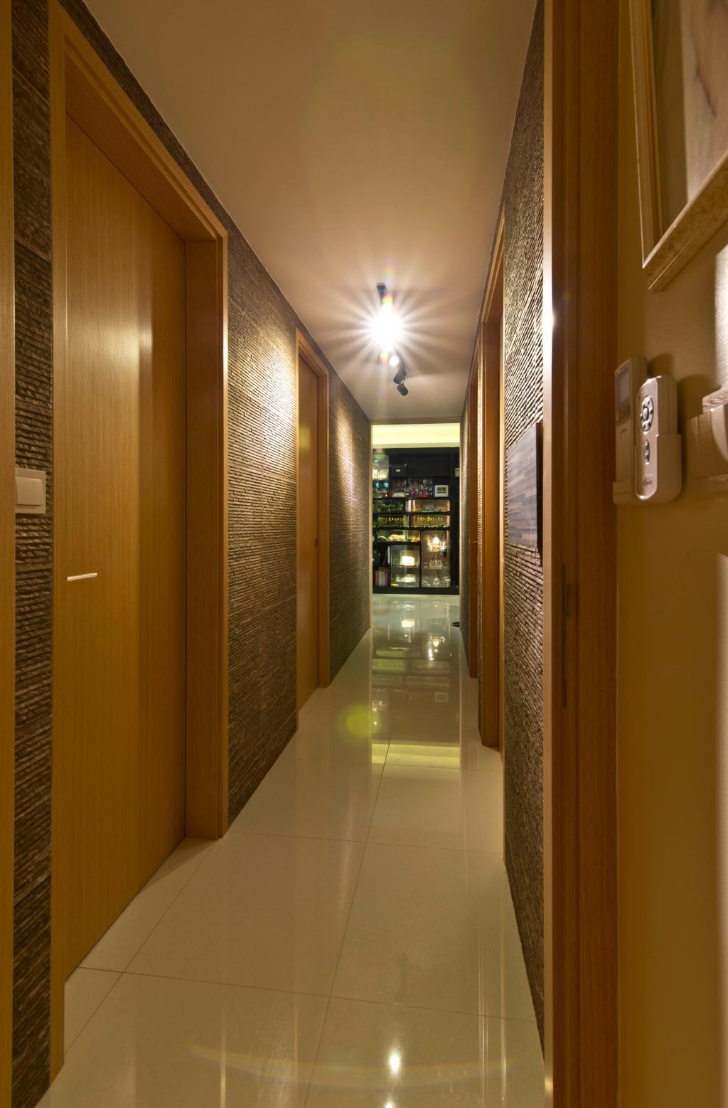 Modern, Condo, Punggol, Interior Designer, Mode Interior Style, Corridor