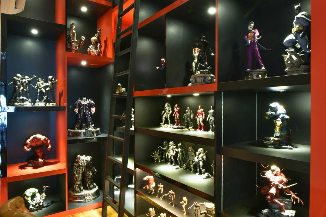 Tropicana Grande, Mode Interior Style, Modern, Study, Condo, Circus, Leisure Activities, Trophy