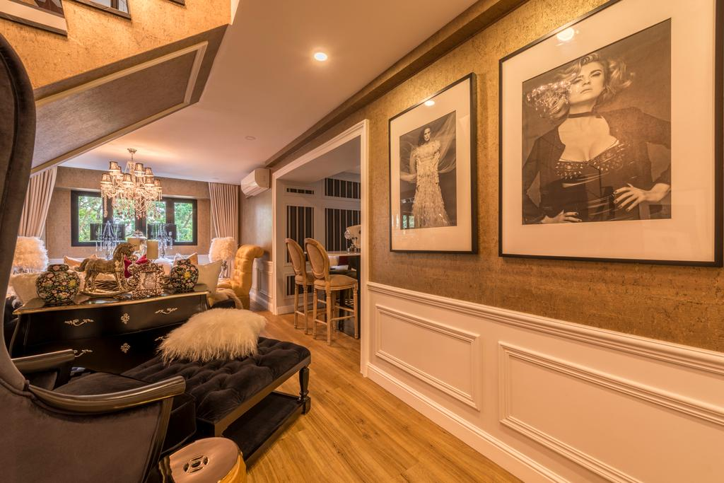 Eclectic, HDB, Living Room, Woodlands Ring Road, Interior Designer, Fifth Avenue Interior, Couch, Furniture, Indoors, Interior Design, Room, Dining Room