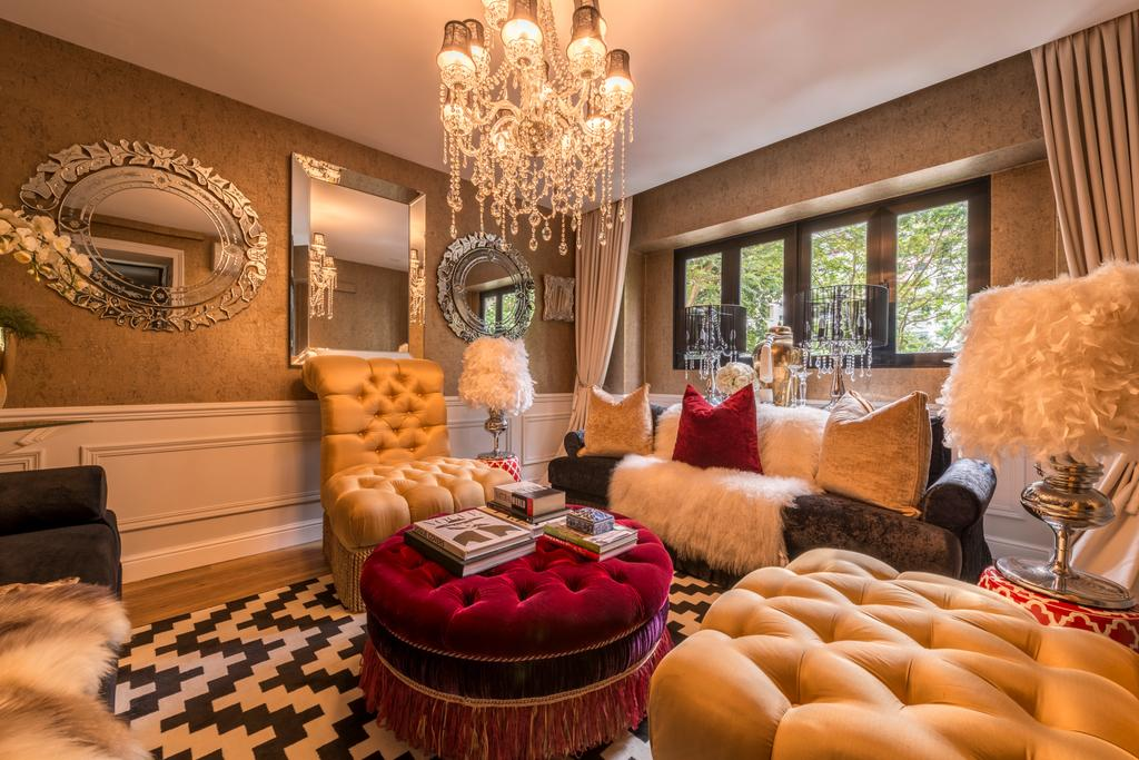 Eclectic, HDB, Living Room, Woodlands Ring Road, Interior Designer, Fifth Avenue Interior, Majestic, Couch, Furniture, Chair, Indoors, Room, Interior Design