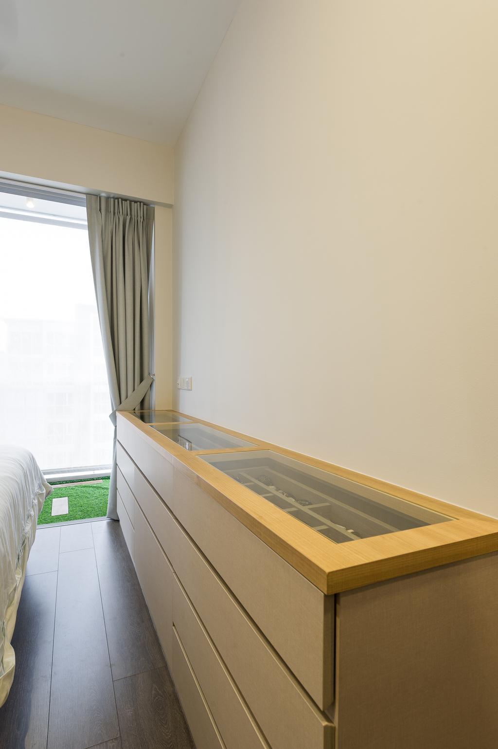 Scandinavian, Condo, Bedroom, Ecopolitan, Interior Designer, ELPIS Interior Design, Plywood, Wood