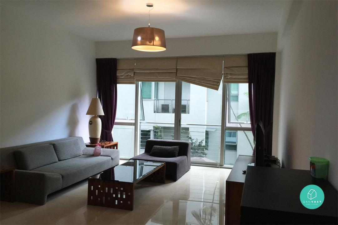 Before and After HDB Condo Renovation
