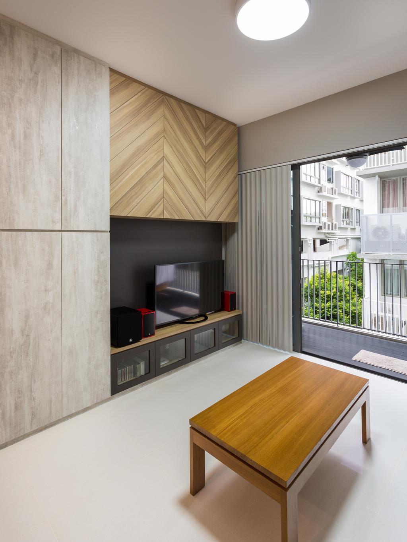 Modern, Condo, Living Room, E Maison, Interior Designer, Space Concepts Design