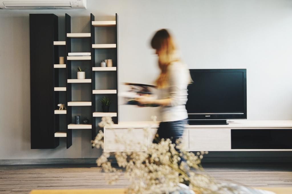 Minimalistic, HDB, Living Room, Yishun Street 72, Interior Designer, The Interior.Look