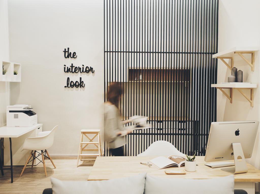The Interior.Look Showroom, Commercial, Interior Designer, The Interior.Look, Minimalistic, Shelf, HDB, Building, Housing, Indoors, Loft, Interior Design