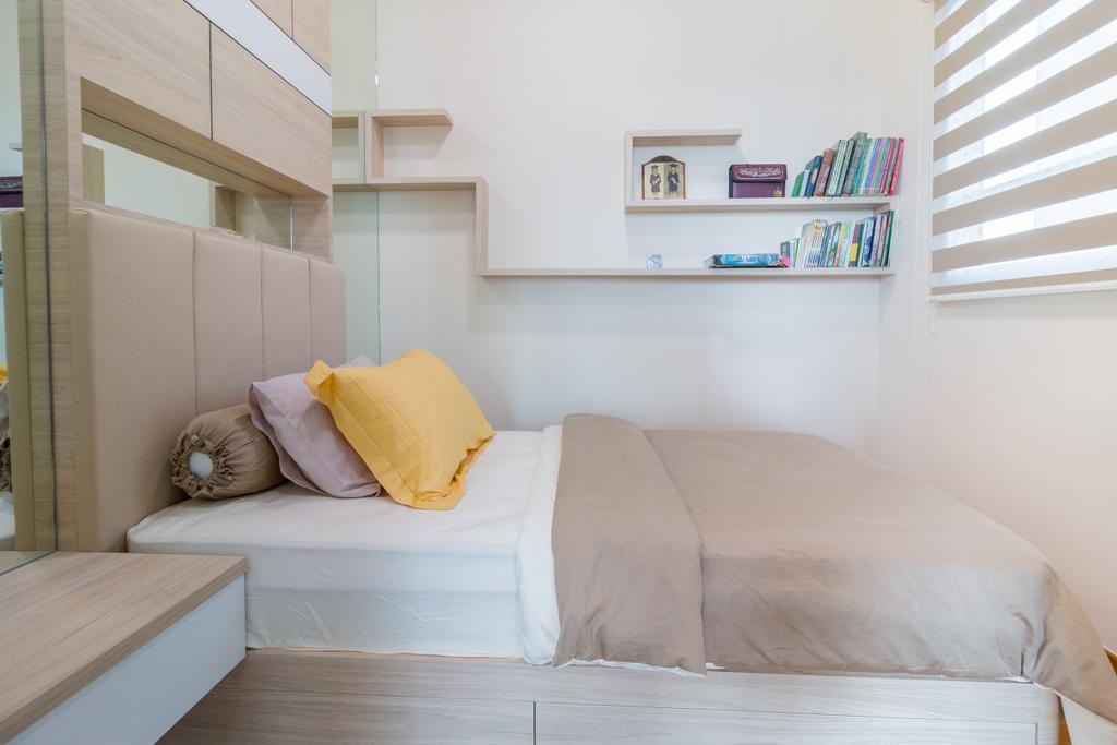 Modern, Condo, Bedroom, Santorini, Interior Designer, Design Story, Contemporary