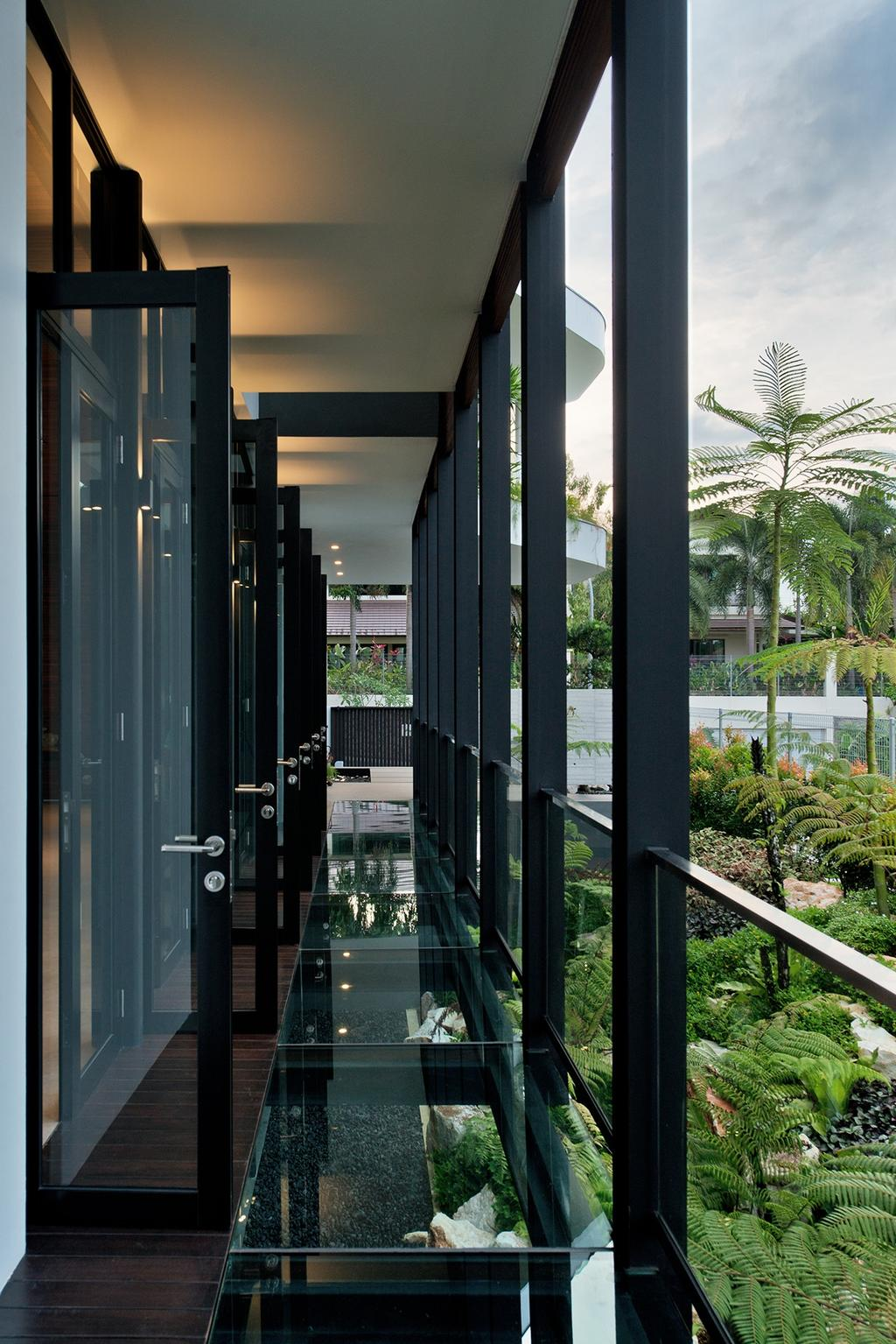 Contemporary, Landed, Toh Heights, Architect, Kite Studio Architecture, Fern, Flora, Plant, Arecaceae, Palm Tree, Tree