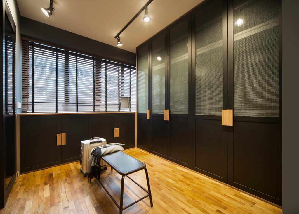 Industrial, Condo, Bedroom, Twin Fountains, Interior Designer, Versaform, Flooring