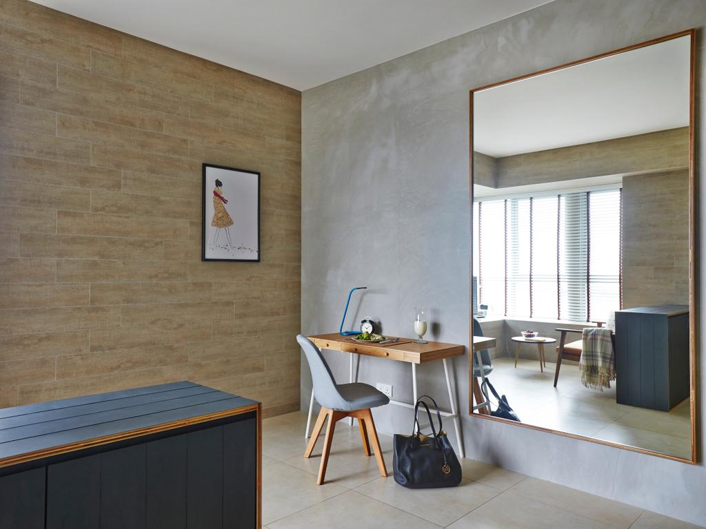 Contemporary, Condo, Living Room, Southbank, Interior Designer, Versaform, Dining Table, Furniture, Table, Chair, Desk, Accessories, Bag, Handbag, Purse