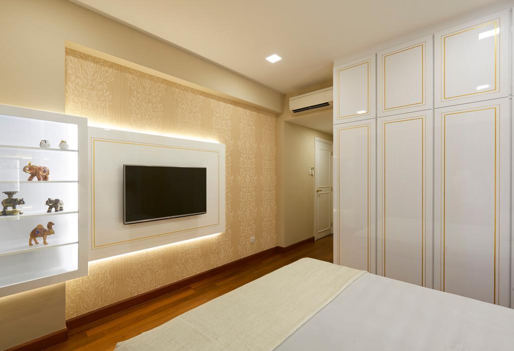 Modern, Condo, Bedroom, Glendale Park, Interior Designer, U-Home Interior Design, Minimalistic, Indoors, Interior Design