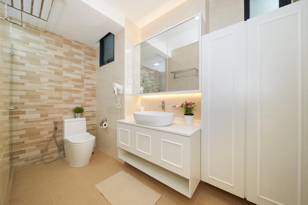 Modern, Condo, Bathroom, Glendale Park, Interior Designer, U-Home Interior Design, Minimalistic, Indoors, Interior Design, Room